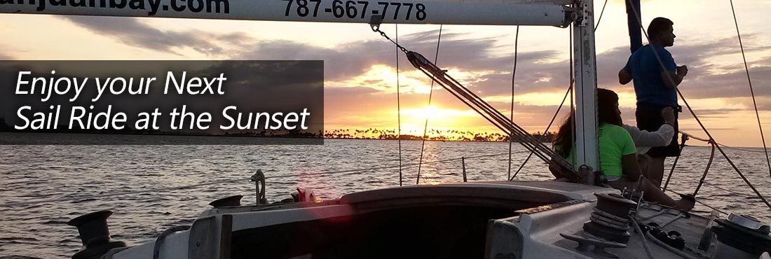 Enjoy your Next Sail Tour in the Sunset